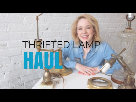 Lamp Haul - What to look for when scouting for vintage lamps