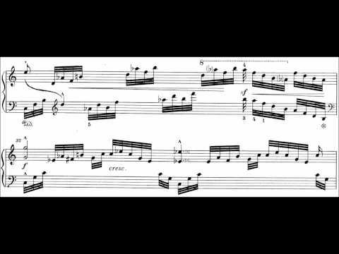 Bedřich Smetana - Concert Etude in G-sharp minor Op. 17 (audio + sheet music)