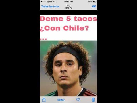 """Corrido la goleada mexico vs chile """" nos lo metieron """" miguel gastelum"""