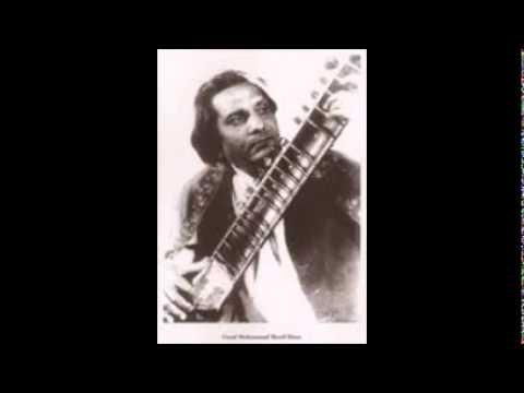 Ustad Mohammad Sharif Khan Ponch Wala - Sitar - Raag Saaz Giri Amir Khusraw's Raag