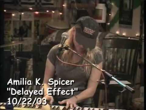 Amilia K. Spicer at Kulak's Woodshed: Singer Songwriter Music