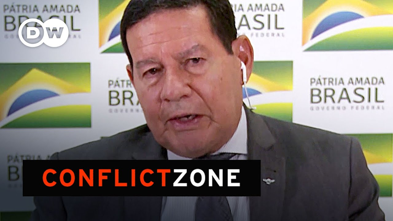 Download Brazil: How chaotic is this government? Hamilton Mourao Interview | Conflict Zone