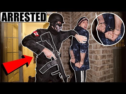ImJayStation was Arrested by POLICE for this (S.W.A.T) (GoodBye)