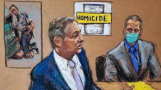 Ankläger beschreibt in Schlussplädoyer George Floyds Tod