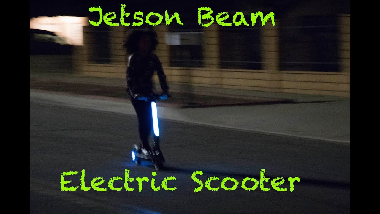 The Best Electric Scooter Ever Jetson Beam Electric Scooter Youtube