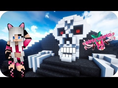 EMPIEZO EL PARQUE TEMÁTICO PARA HALLOWEEN!!! - Girl's World 2 Minecraft Ep 66