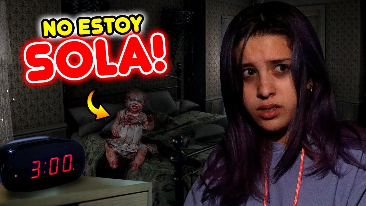 INVOQUE A BABY BLUE! ES REAL ME ENCERRÓ EN EL BAÑO! | Leyla Star 💫
