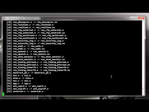asterisk install demo