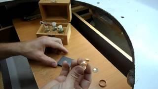 """#goldenartjewelry =ЗОЛОТО ПРОВЕРКА НА ПРОБЫ- 375""""-585""""-900""""-ЗУБЫ. РЕАКТИВАМИ. СМОТРЕТЬ! #1="""