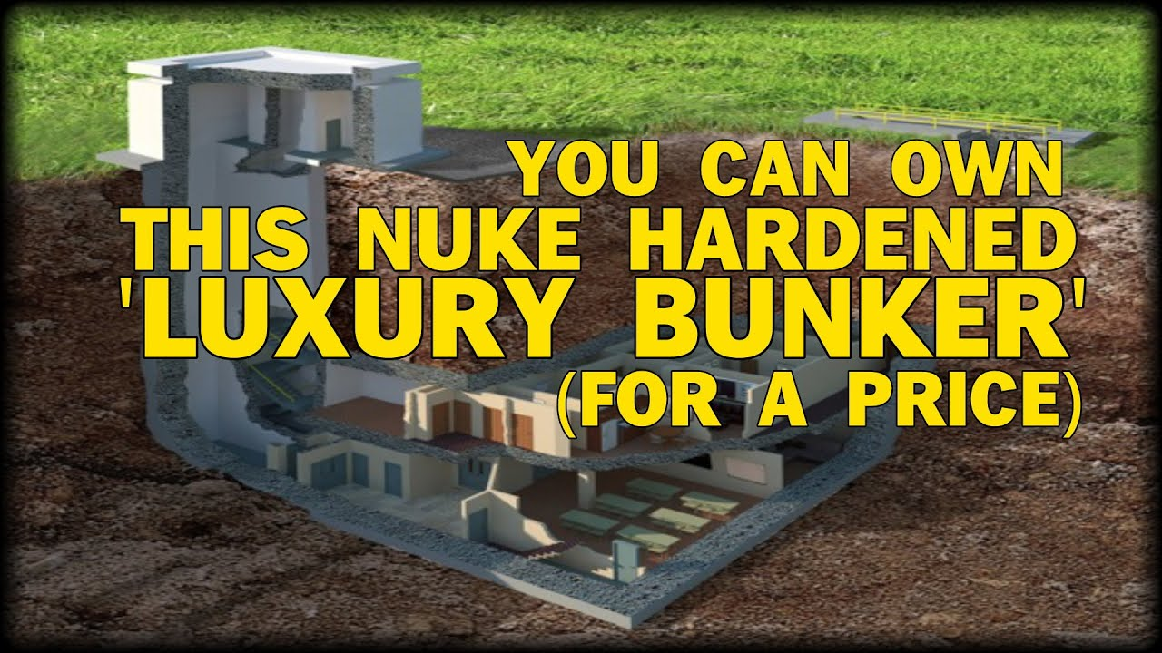 LOOK Underground Luxury Bunker Goes On The Market For
