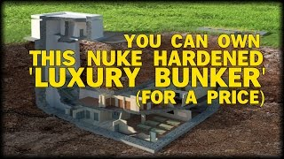 LOOK: Underground 'Luxury' Bunker goes on the market for $17.5 Million
