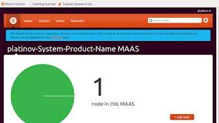 cluster ubuntu MAAS вернулся к теме создания кластера и вот что мы имеем.