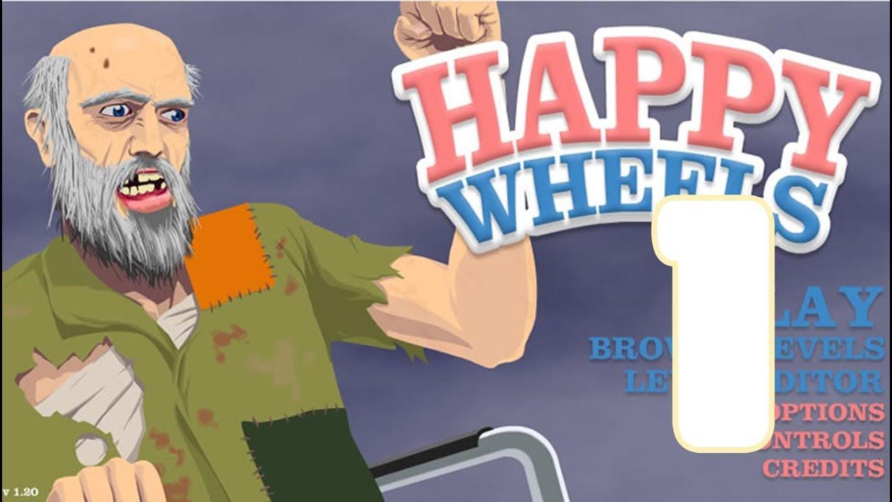 Happy Wheels Episodio 1 El Comienzo Youtube