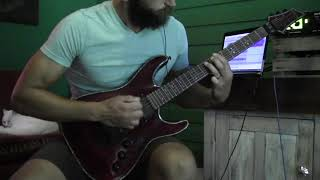 """Protest the Hero """"The Migrant Mother"""" GUITAR COVER"""