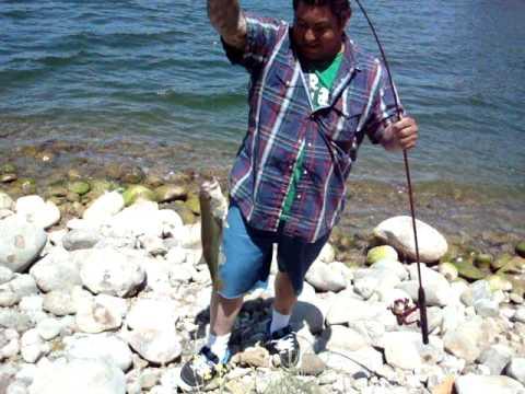 Lake cachuma fishing youtube for Lake cachuma fishing report