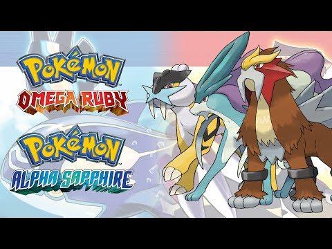 10 Hours Battle! Raikou/Entei/Suicune Music - Pokemon Omega Ruby & Alpha Sapphire Music Extended