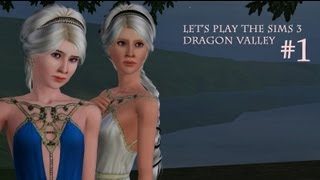 "Let's Play The Sims 3 Dragon Valley [Part 1]-- ""Refuge"""