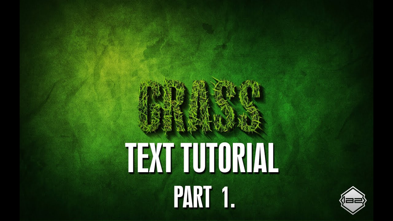 Hd how to grass text effect tutorial in adobe photoshop cs6 cs5 hd how to grass text effect tutorial in adobe photoshop cs6 cs5 cs4 cs3 advanced ps series baditri Image collections