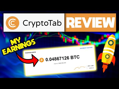 CryptoTab Browser Review | Earn FREE Bitcoin (I Made $995)