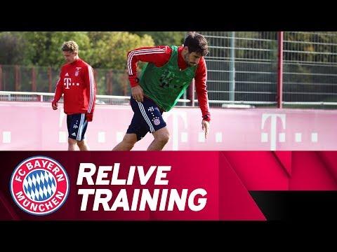 ReLive | FC Bayern Training from Säbener Straße