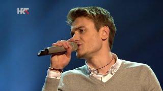 "Dino: ""Pratim te"" - The Voice of Croatia - Season1 - Live2"