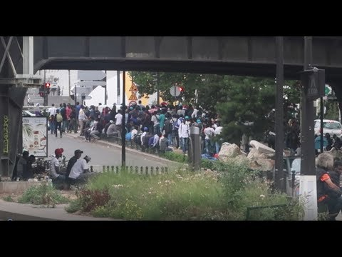Paris Train Station Overwhelmed With Migrants