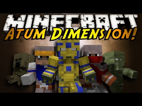 Minecraft Mod Showcase : ATUM DIMENSION!