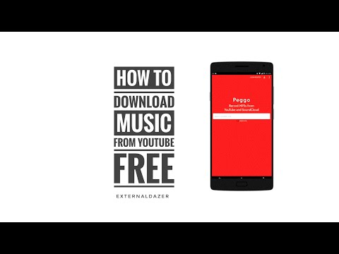 How To Download Music From Youtube | FREE | PEGGO