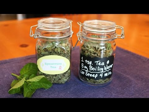DIY Tea Jars For Gifts - REALLY EASY & CUTE!