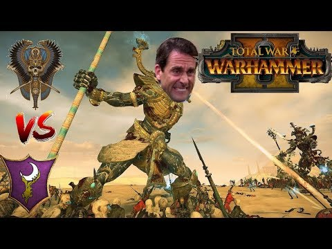 Tomb Kings vs Dark Elves | AWKWARD TITAN - Total War Warhammer 2
