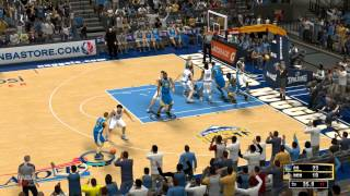 NBA 2K13 : Gaming Live Playoffs - Warriors vs Nuggets (HD)
