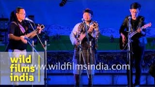 Lepcha folk song by Mickma Tshering Lepcha and band from Sikkim