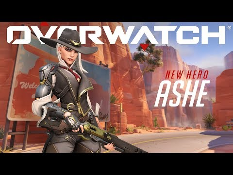 [NEW HERO] Introducing Ashe | Overwatch