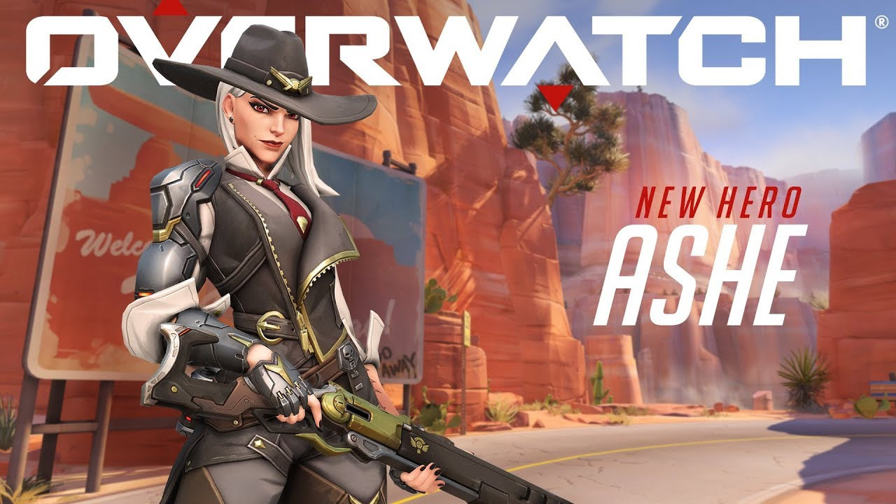 Overwatch's next character is a gunslinger named Ashe - The