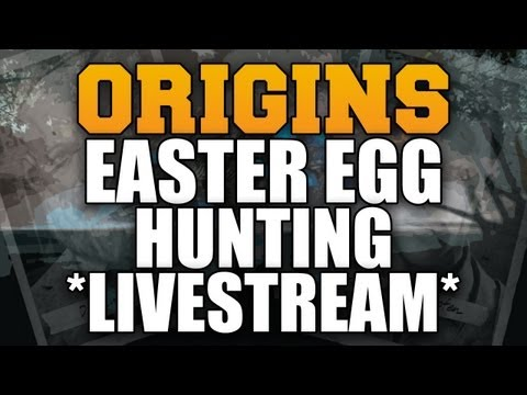 Black Ops 2 Zombies: 'ORIGINS' Gameplay Plus Easter Egg Hunt *LIVE* 'APOCALYPSE DLC 4'
