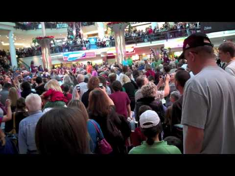 Christmas Food Court Flash Mob - Hallelujah Chorus