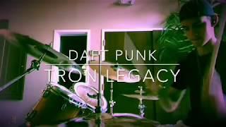 TRON Legacy - Daft Punk (Drum Cover)   Disney's TRON Legacy