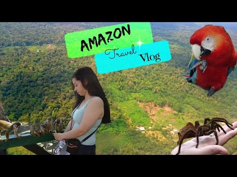 Amazon Travel Vlog- Leticia, Colombia