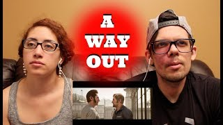 E3 2017 A Way Out GamePlay Trailer REACTION!