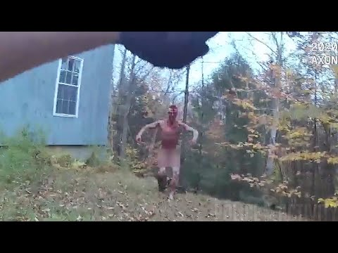 Bodycam Shows Police Shooting Of Ethan Freeman in Thornton, New Hampshire