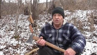 Топоры ЭВЕНКОВ Охотников и оленеводов В чем их отличие от обычных