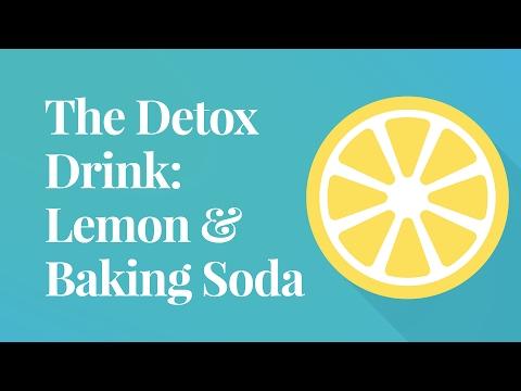 The Detox Drink: Lemon & Baking Soda