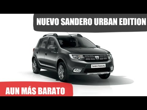 dacia sandero urban edition nueva edici n limitada stepway youtube. Black Bedroom Furniture Sets. Home Design Ideas