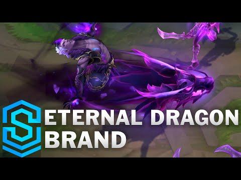 Eternal Dragon Brand Skin Spotlight - League of Legends