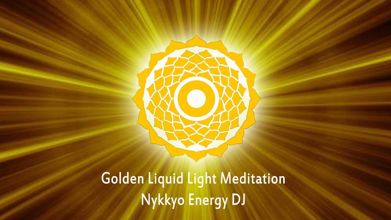 Nykkyo Energy Dj Golden Liquid Light Meditation 432hz