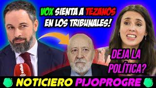 IMPUTAN a TEZANOS GRACIAS a VOX, IRENE MONTERO DEJA la POLÍTICA?, y la TRAICIÓN del PP en CEUTA! 😨