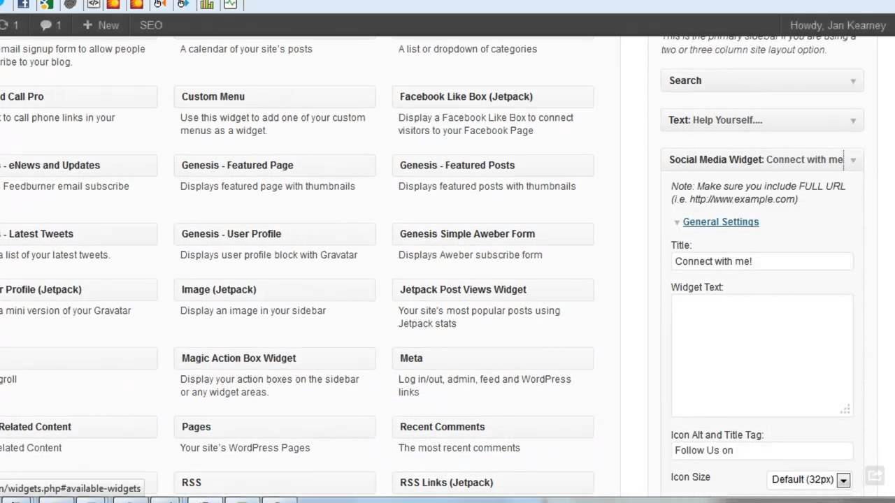 How To Remove The WordPress Social Media Widget Plugin ...