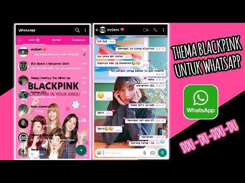 New Update ! BLACKPINK Theme For Whatsapp