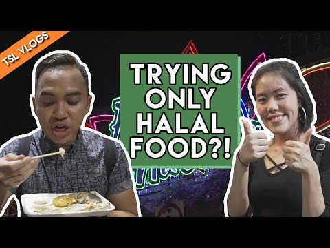 BEST HALAL FOOD GUIDE AT THE RAMADAN BAZAAR 2017! | TSL Vlogs