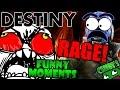 Destiny Funny Moments Ep.34 WORST TEAM! TRIALS BUBBLE TITAN FUN!